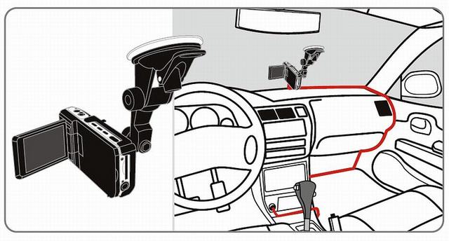 Видеорегистратор прокладка провода